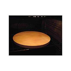 Шамотна плита коло для піци 350х20 мм. AW