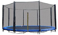 Защитная сетка 12 фт 366-374 см 8 столбиков внешняя