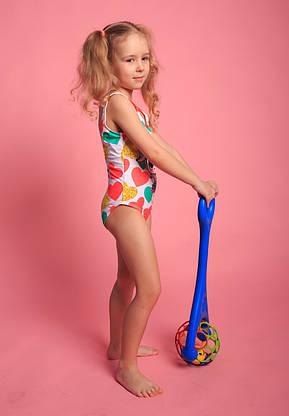 Детский слитный купальник для девочек (арт. 14-85)  28р-36р. с куклой  ЛОЛ, фото 3