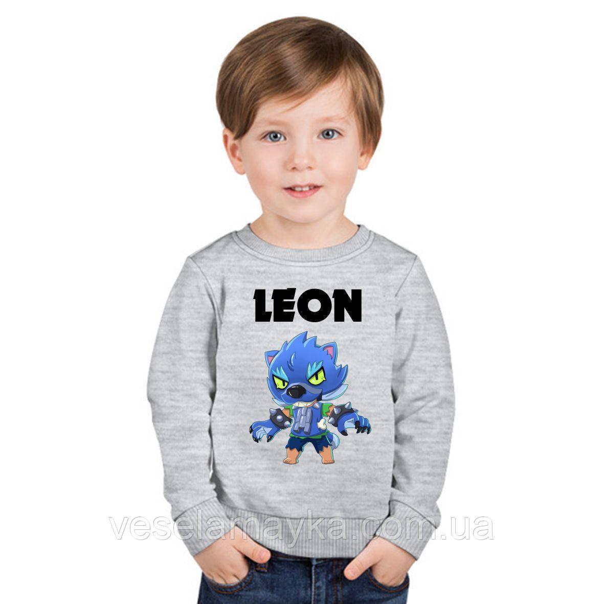 Детский свитшт Leon Werewolf 2 (Размер 5-6 лет)