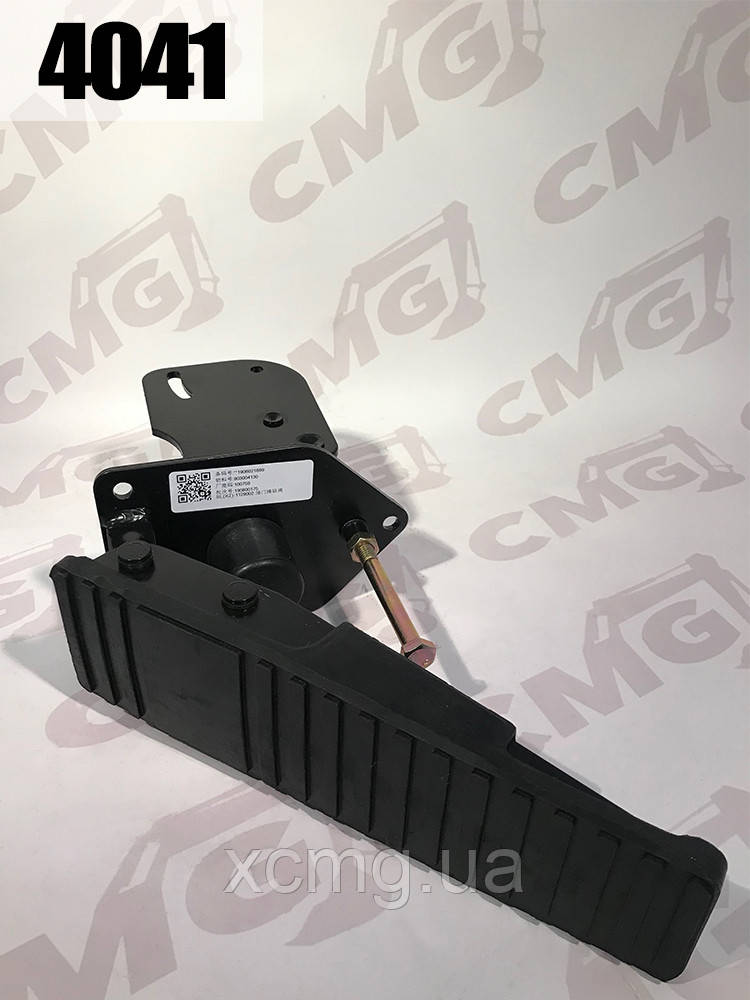 Педаль акселератора 803004130, 252100842 навантажувачів ZL50, LW300, LW500K, LW500F XCMG