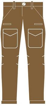 Городские брюки