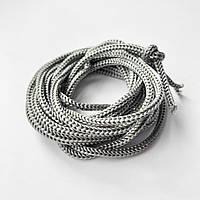 Нейлоновый шнур d 3 мм серый