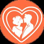 Валентинки та весільні набори трафарет з вирубкою