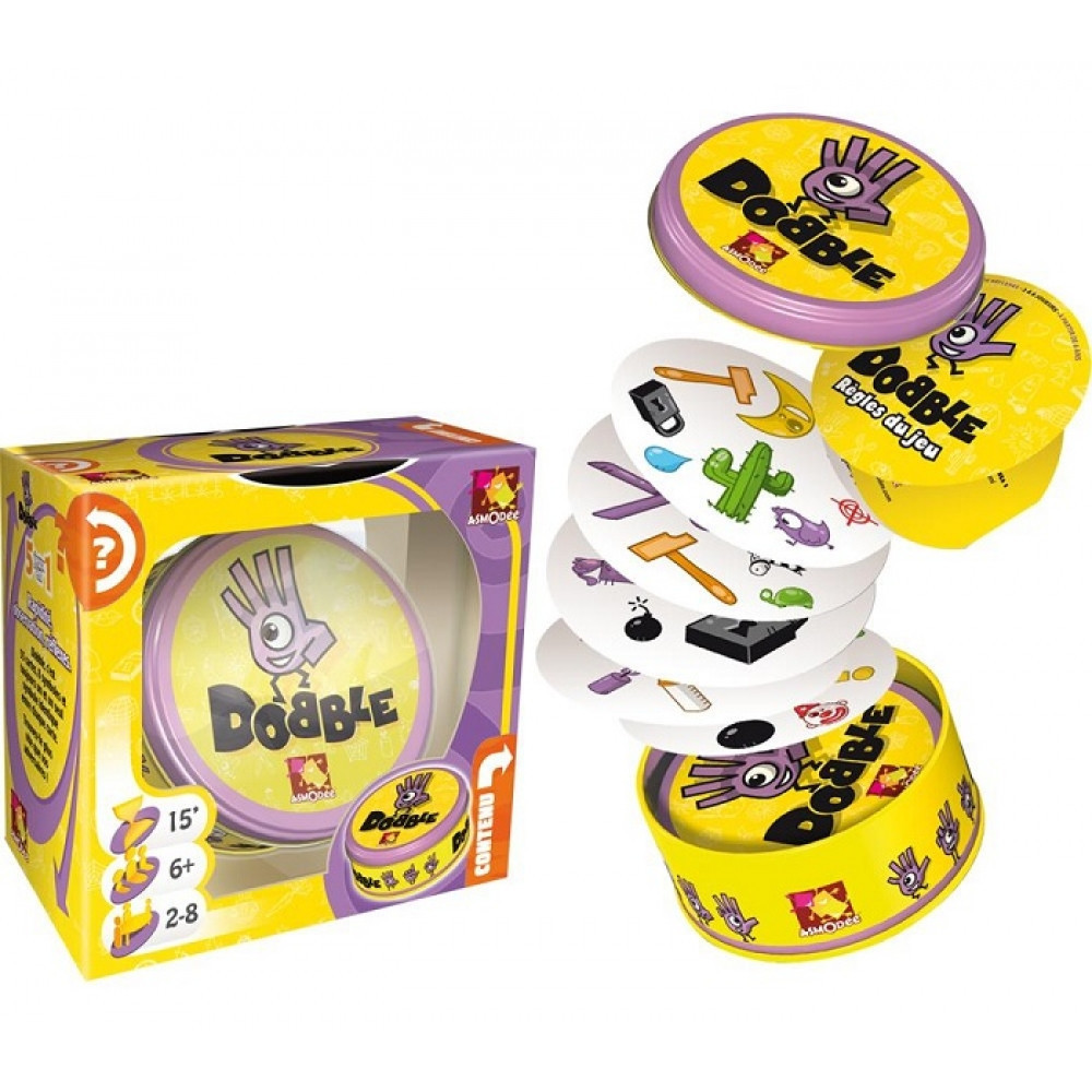 Доббль (Dobble, Spot It!) Настольная игра