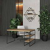 Письменный стол с полочками, фото 2