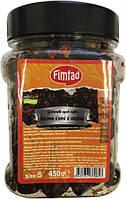 Оливки вяленые черные со специями (маслины) 450 г Fimtad S (Турция)