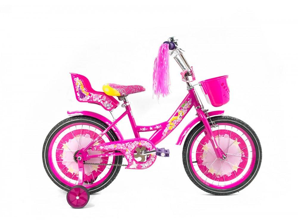"""Детский велосипед Crosser GIRLS R18"""" (Розовый)"""