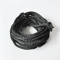 Нейлоновий шнур d 3 мм чорний