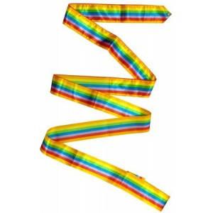 Лента гимнастическая (Цвет : радуга)
