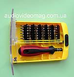 Набір біт Iron Spaider 6088B 37 в 1 для ремонту мобільних телефонів, планшетів, фото 3