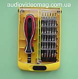 Набір біт Iron Spaider 6088B 37 в 1 для ремонту мобільних телефонів, планшетів, фото 4