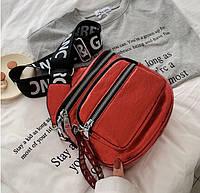 Женская кожаная сумка. Модель 437, фото 4