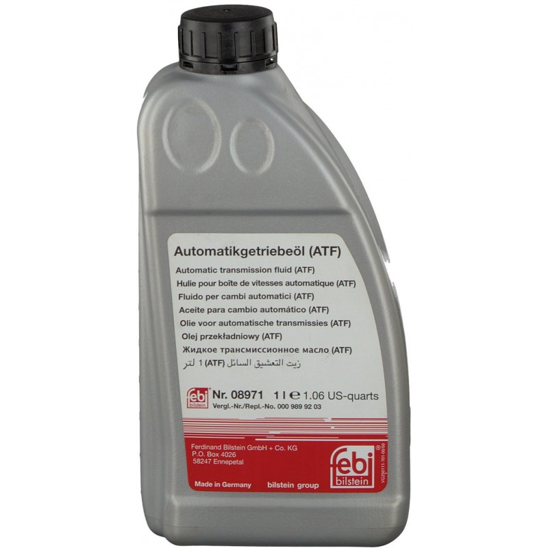 Трансмиссионное масло FEBI ATF D-II (8971) 1л