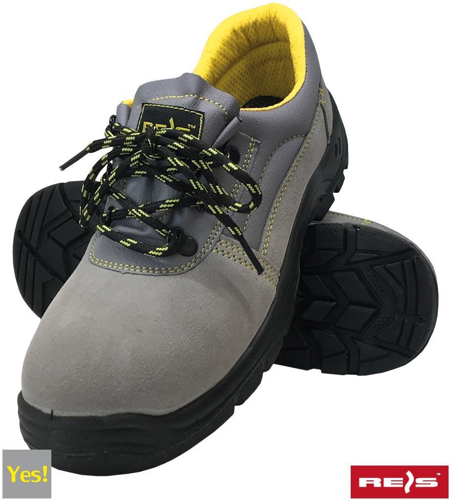 Рабочая обувь с антипрокольной стелькой REIS (RAW POL) Польша (спецобувь) BRYESVEL-P-S1P
