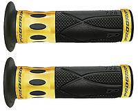 Рукоятки руля ProGrip 728 22/25 мм черно золотые