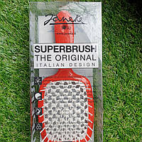 Расческа для волос Janeke Superbrush Red White