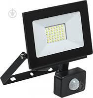 Светодиодный прожектор 30Вт с датчиком движения