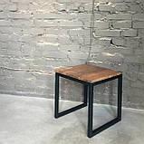 Табурет из металла в стиле лофт, фото 2