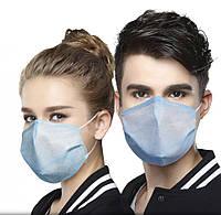 Набор масок для лица 3-х слойные (10 штук) MSK-19
