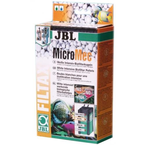 Шарики из спечённого стекла JBL Micromec для расщепления загрязняющих веществ в аквариумном фильтре, 650 г