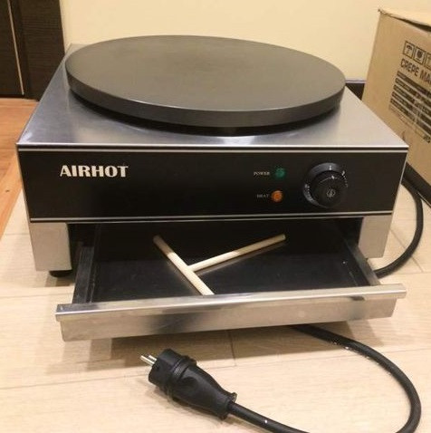 Блинница профессиональная Airhot BE-1 с антипригарным покрытием для блинов до 40см