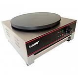 Блинница профессиональная Airhot BE-1 с антипригарным покрытием для блинов до 40см, фото 2