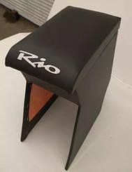 Подлокотник KIA Рио 2 (2005-2011) с вышивкой