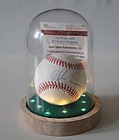 Mike Tyson (Майк Тайсон) автограф на бейсбольном мяче JSA COA