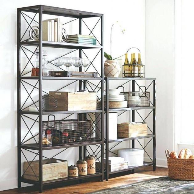 Комплект стеллажей для хранения в стиле Лофт