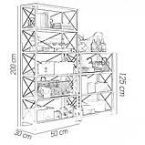 Комплект стеллажей для хранения в стиле Лофт, фото 2