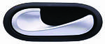 Ручка левой двери внутренняя Renault DusterРено Дастер Серая 8200028487 8200491985 8200310579 8200174075