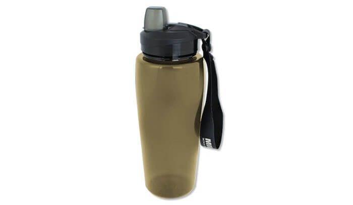 Бутылка для воды Mil-Tec Фляга SMOKE BOTTLE TRANSPARENT 600ml (14519705)