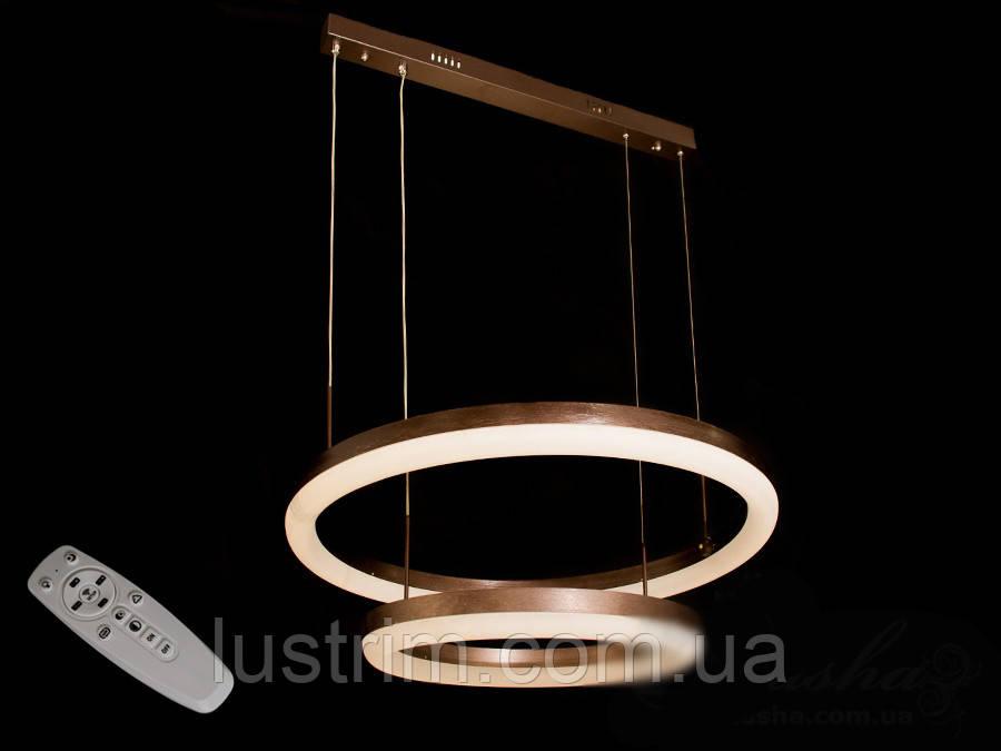 Современная светодиодная люстра с диммером, 95W