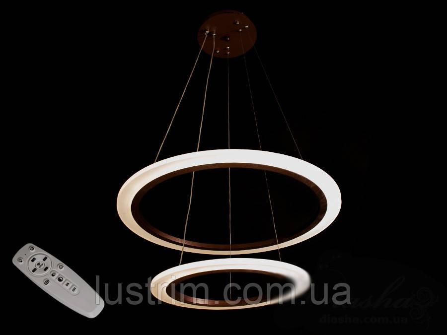 Современная светодиодная люстра с диммером, 85W