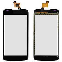 Touchscreen (сенсорный экран) для Acer E350 Liquid Gallant Duo, черный, оригинал