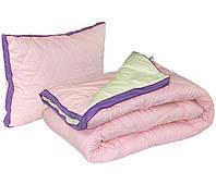 Одеяло с Подушкой Полуторное 140х205 двустороннее Fresh Breeze силикон 200г/м2 Руно 321Fresh Breeze A