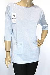жіноча нарядна модна кофта з люрексом