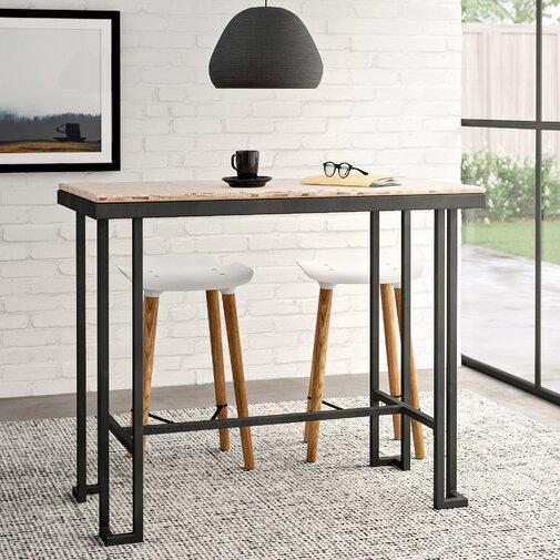 Стол барный в стиле Лофт 1100х1200х500