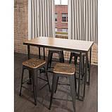 Стол барный в стиле Лофт 1100х1200х500, фото 2