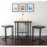 Стол барный в стиле Лофт 1100х1200х500, фото 3