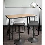 Стол барный в стиле Лофт 1100х1200х500, фото 4