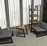 Столик журнальный кофейный в стиле Лофт 500х400х450, фото 4