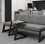 Столик журнальный кофейный в стиле Лофт 500х400х450, фото 5