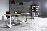Стол обеденный в стиле Лофт 1200х900х750, фото 3