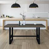 Стол обеденный в стиле Лофт 1500х600х750, фото 3