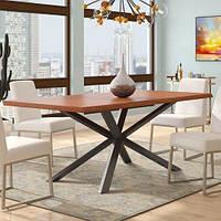 Стол обеденный в стиле Лофт 1600х900х700