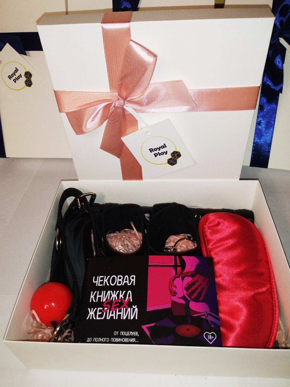 Подарочный интимный VIP - БДСМ набор для пар от ROYAL PLAY