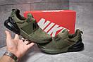Кроссовки мужские 14082, Nike Air Max, зеленые, [ 42 ] р. 42-26,5см., фото 2