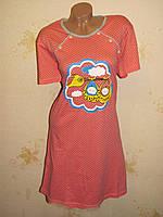 Женская хлопковая ночная рубашка, 50-52 размер